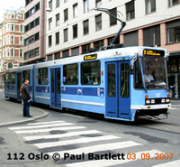 Oslo, Norway Trams