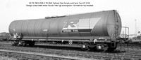 33 70 789 9 039-3 Tiphook Rail Acrylic acid tank Design code E686 @ Immingham 90-10-13 � Paul Bartlett [03w]