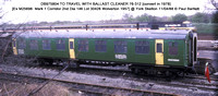 DB975804 TO TRAVEL WITH BALLAST CLEANER 76-312 @ York Skelton 88-04-11 � Paul Bartlett w
