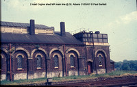 Engine shed @ St. Albans MR 67-05-31 � Paul Bartlett w