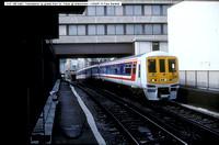 319 186 EMU up grade from St. Pauls @ Blackfriars 91-04-11 � Paul Bartlett w