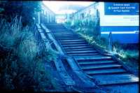 Entrance steps @ Ipswich Yard 89-07-20 � Paul Bartlett w