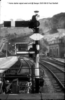 Home starter signal @ Bangor No 68-01-25 � Paul Bartlett w