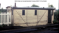 M&GN Brake van body @ Beardshall Crossing 77-06-05 � Paul Bartlett w