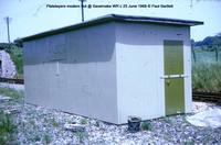 Platelayers modern hut @ Savernake WR 68-06 � Paul Bartlett