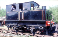 Sentinel no. 49 LNER 1930 Pres @ Quainton Road 85-05-06 � Paul Bartlett w