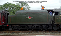 46115 Scots Guardsman Conserved on the Dalesman @ Appleby 2015-08-11 © Paul Bartlett [09]