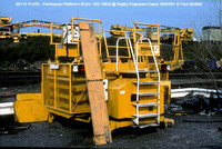 69113 PL033 - Permaquip Platform Lift @ Rugby Engineers Depot 91-04-28 � Paul Bartlett w