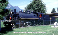 2 Pacific Great Eastern Baldwin 1910 @ Squamish BCR 09 July 88 � Paul Bartlett w