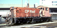 CP1239 Bo-Bo class DS-12 @ Vancouver CP 09 July 88 � Paul Bartlett [1w]