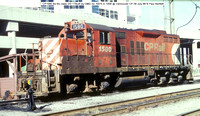 CP1580 Bo-Bo class DS-17@ Vancouver CP 09 July 88 � Paul Bartlett w