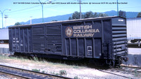 BCIT 841936 British Columbia box car @ Vancouver BCR 09 July 88 � Paul Bartlett [1w]