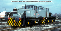 50 & 4859 0-4-0 Planets  @ Stoke Wagon Repairs Ltd 83-04-30 � Paul Bartlett w