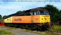 47749 [ex D1660] Colas on show @ Swanwick Junction, MRC 2012-08-19 � Paul Bartlett [01w]