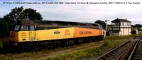 47749 [ex D1660] Colas on show @ Swanwick Junction, MRC 2012-08-19 � Paul Bartlett [17w]