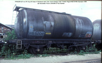 PR55208 Petroleum ex Elf VIP Class A tank @ Gloucester Procor 86-05-23 � Paul Bartlett w
