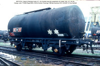 BRT57351 Class B Petroleum tank Air brake 1966 @ Swansea RCS 87-04-24 © Paul Bartlett w