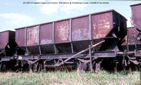 29 21ton LNER design welded Internal @ Grimethorpe Coalite 88-04-13 � Paul Bartlett w
