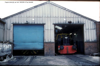 Engine shed @ Lea Hall Colliery  90-02-19 � Paul Bartlett w