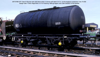 BRT57680 Mobil Class B Bitumen tank @ Ripple Lane C&W 87-05-30 � Paul Bartlett w