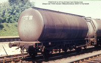 PR55219 Petroleum ex Elf VIP Class A tank @ Micheldever 77-05-28 � Paul Bartlett w