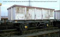 BTP24443 32t GLW Tippler @ Immingham Dock 86-11-02 � Paul Bartlett w