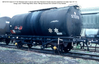 BRT57370 Class B Petroleum tank Esso Petroleum Air brake 1966 @ Swansea RCS 87-04-24 © Paul Bartlett w