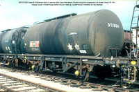 BRT57350 Class B Petroleum tank Esso Petroleum Air brake 1966 @ Cardiff Docks 80-09-10 © Paul Bartlett w