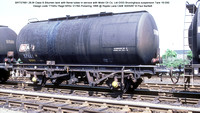 BRT57681 Mobil Class B Bitumen tank @ Ripple Lane C&W 87-05-30 � Paul Bartlett w