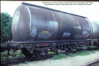 PR55218 Petroleum ex Elf VIP Class A tank @ Gloucester Procor 86-05-23 � Paul Bartlett w