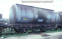 PR55212 Petroleum ex Elf VIP Class A tank @ Gloucester Procor 86-05-23 � Paul Bartlett w