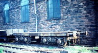 Short Bogie Flat, Internal @ Barrow in Furness 79-08-26 � Paul Bartlett w