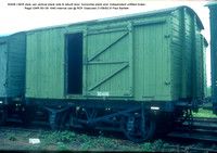 30406 LNER style van Independent unfitted brake 1940 Internal use @ ROF Glascoed 92-08-21 © Paul Bartlett w