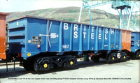 BSSW26617 JUA Iron Ore Tippler Inner @ Swansea Marcrofts 92-08-19 � Paul Bartlett w