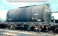 BRT57365 Class B Petroleum tank Esso Petroleum Air brake 1966 @ Cardiff Docks 80-09-10 © Paul Bartlett w