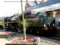 75029 The Green Knight built at Swindon in 1954 @ Whitby on 2009-07-04 © Paul Bartlett [1w]