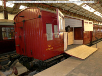 M42608 LMS Horse Box [Diag 2125 Lot 1534 Derby 1949] Conserved @ Swanwick Junction MRT 2016-08-14 © Paul Bartlett [00w]