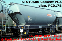 STS10600 Cement