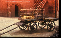 1403 GWR horse dray @ Museum Ironbridge late 1970s � Paul Bartlett w