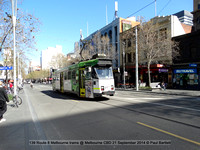139 Route 8 Melbourne trams @ Melbourne CBD 21 September 2014 © Paul Bartlett [1]