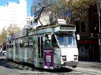 168 Melbourne trams @ Melbourne CBD 21 September 2014 © Paul Bartlett