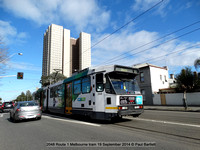 2048 Route 1 Melbourne tram 19 September 2014 © Paul Bartlett