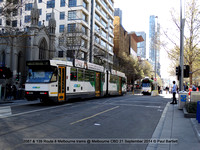 2087 & 139 Route 8 Melbourne trams @ Melbourne CBD 21 September 2014 © Paul Bartlett