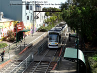 5009 Route 96 Melbourne tram @ South Melbourne Market 21 September 2014 © Paul Bartlett [1]