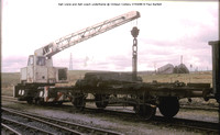 4wh crane and 4wh coach @ Onllwyn Colliery 86-04-27 � Paul Bartlett [1]