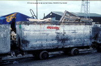 610 narrow gauge tub @ Lea Hall Colliery 90-02-19 � Paul Bartlett w