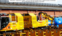 99709 910017 1 Network Rail 3- ATMW761 - Doosan DX170W Flash Butt Welder @ York Holgate Network Rail Depot 2014-08-05 � Paul Bartlett [2w]