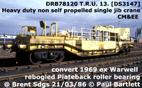 DR78-0xx & 781xx  BR Non Self Propelled twin jib cranes