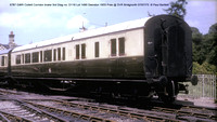 5787 GWR Collett Corridor brake 3rd Pres @ SVR Bridgnorth 73-07-01  � Paul Bartlett w