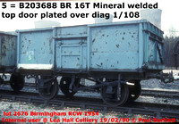 BR 16t Mineral welded diag 1/108 & 117 unfitted Industrials